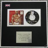 50 CENT -  CD Album Award - GET RICH OR DIE TRYIN'